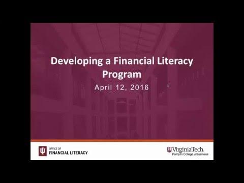Developing a Financial Literacy Program