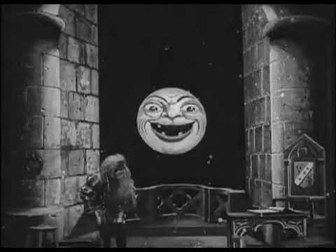 1898 Georges Méliès La Lune à Un Mètre The Astronomers Dream Short movie court metrage Silent Muet