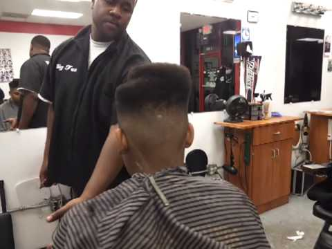 how to do the tupac juice cut box fade by big tex - YouTube
