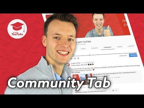 Fotos und Umfragen im YouTube Community Tab posten (alles, was du wissen musst)