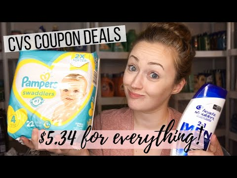 $5.34 FOR EVERYTHING!! 🙌 CVS Coupon Deals 11/24-11/30