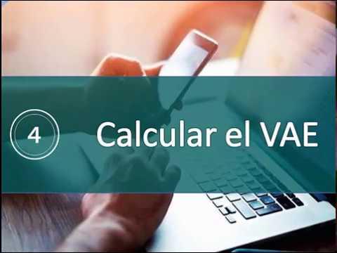 Calcular el Valor Anual Equivalente (VAE)
