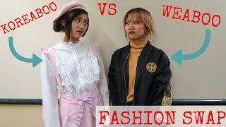 KOREABOO VS WEEABOO | KFASHION JFASHION SWAP