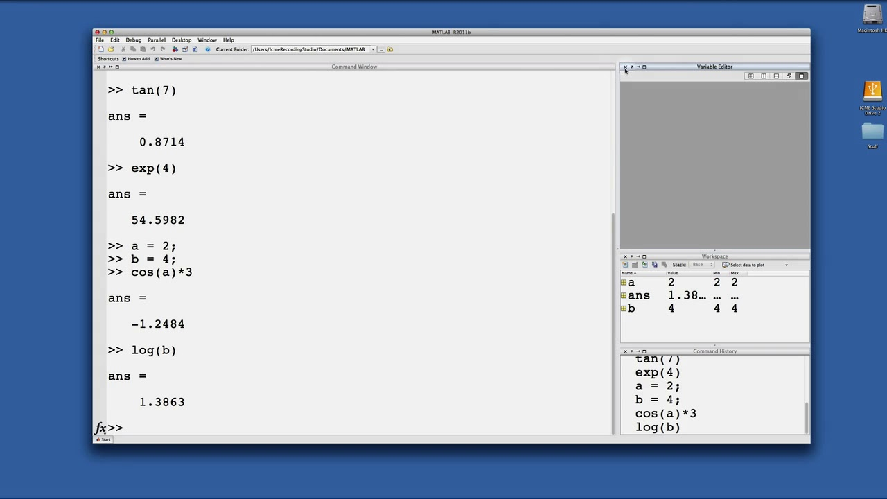 Intro to Matlab 1a GUI