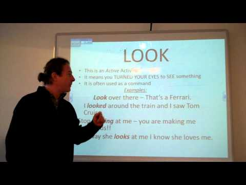The differences between 'See', 'Look' and 'Watch' - Learn English at Dublin City University