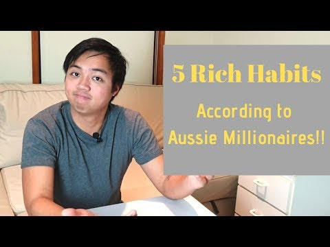 Australian Millionaires | 5 Habits We Can Learn From the RIch