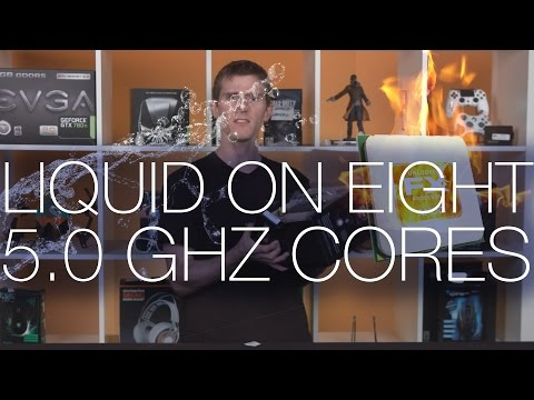 AMD FX-9590 Liquid Cooling System Bundle Unboxing and Overview