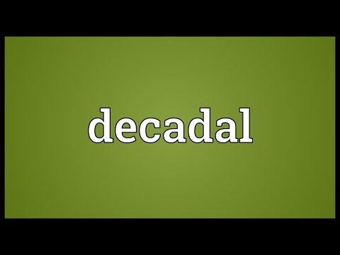 Header of decadal