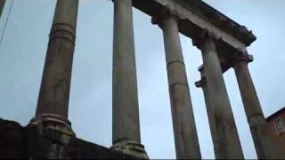 Italy   Roman Forum: Temple of Saturn