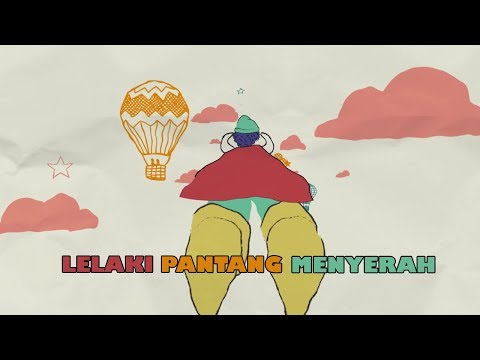 D'MASIV - Lelaki Pantang Menyerah [Official Lyric Video]