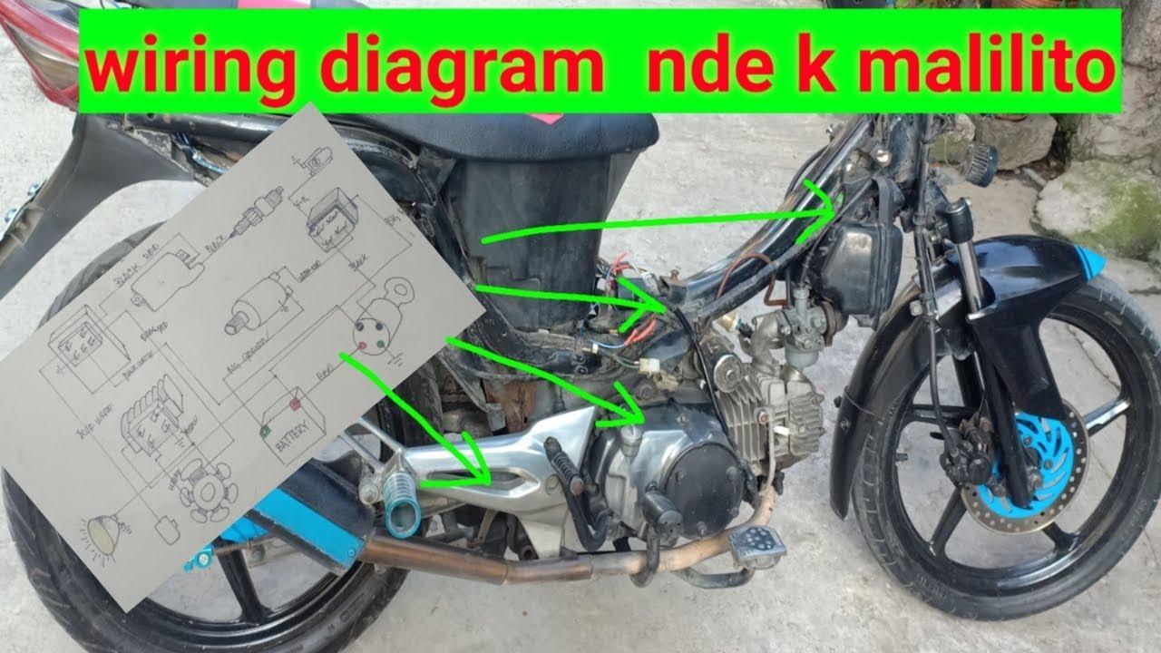 Wiring Diagram Motorcycle Part 2 Youtube