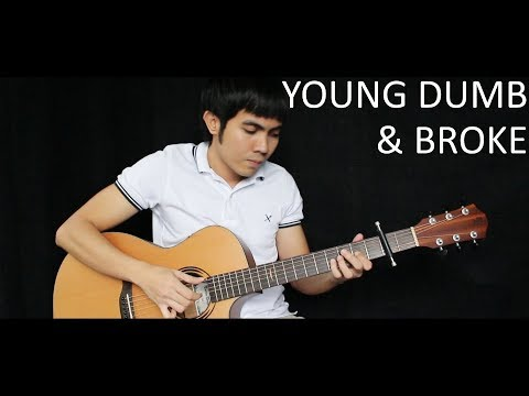 Young Dumb & Broke - Khalid (fingerstyle guitar cover)