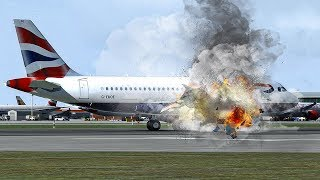 Bursting into Flames on Approach to London Heathrow | British Airways Flight 762