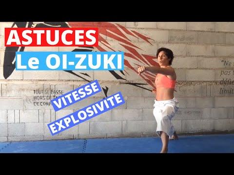 Le OI-ZUKI : ASTUCES pour gagner en vitesse, explosivité et puissance par Jessica et Sabrina BUIL
