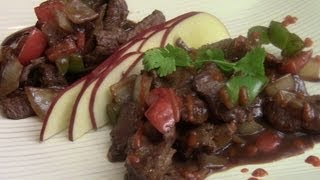 How To Make Chinese Beef Tenderloin Stir Fry With Green And Sweet Peppers