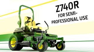 Z740R para uso semiprofesional | John Deere ES