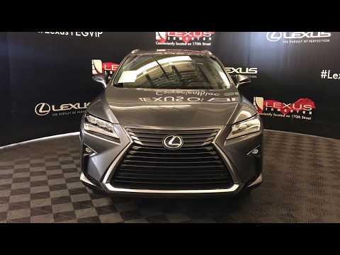 Gray 2016 Lexus RX 350 Luxury Package Review Edmonton Alberta - Lexus of Edmonton