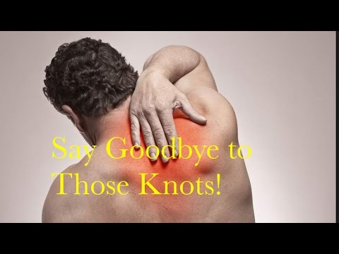 How to Get Rid of Knots in Your Upper Back  Incredibly Effective Trick!