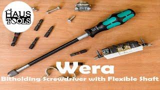 Wera 392 Kraftform Bitholding Screwdriver Handle with Flexible Shaft