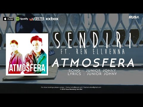 Atmosfera (ft. Ren Ellvenna) - Sendiri (Official Lyrics Video)