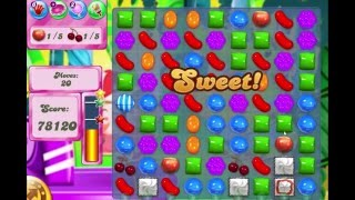 Candy Crush Saga Level 413 Bring all ingredients down