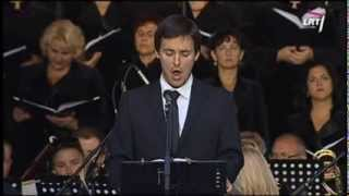 """Kostas Smoriginas """"Fac,ut ardeat cor meum"""" A. Dvořák"""