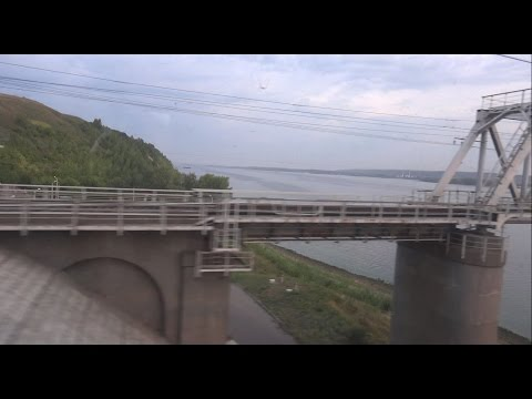 """Поездка на поезде №026Г """"Италмас"""" Москва - Ижевск. От Канаша до Казани."""