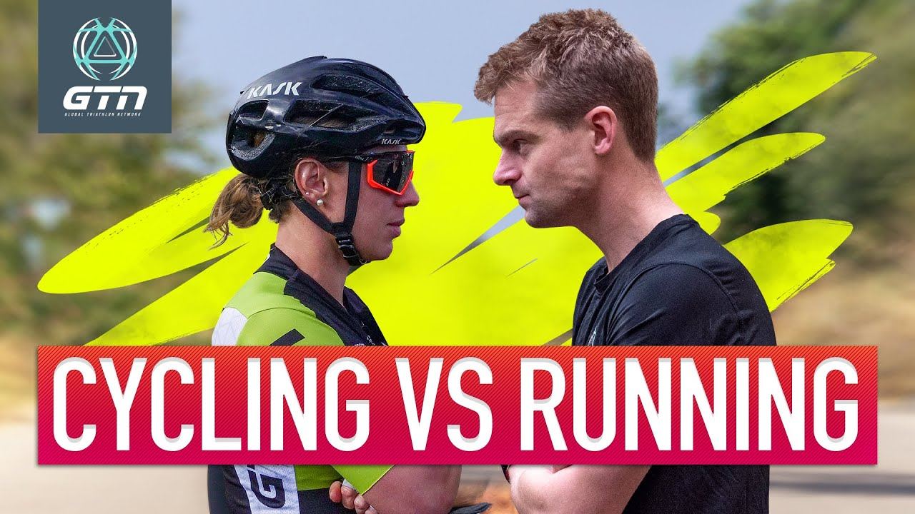 Running Vs Cycling What Burns The Most Calories Youtube