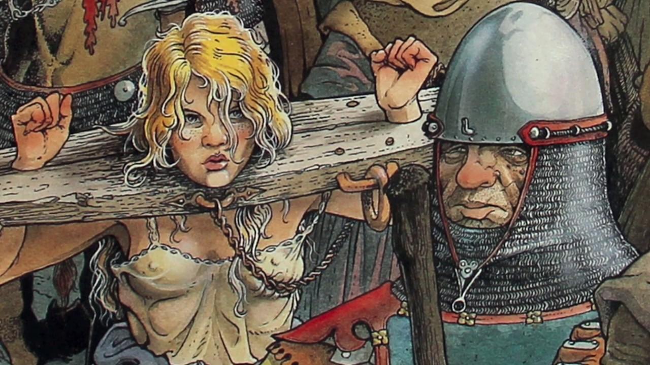 bande dessinee medievale