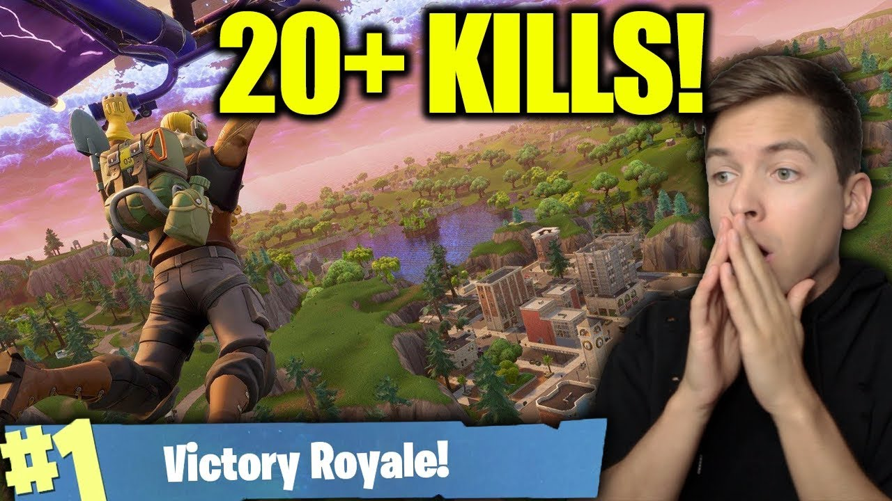 Our New Kill Record In Fortnite Battle Royale Youtube