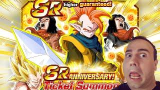 THE TRUE DESPAIR! SR ANNIVERSARY TICKET SUMMONS! Dragon Ball Z Dokkan Battle