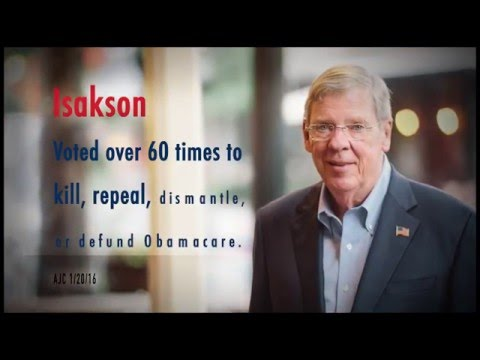 Johnny Isakson for Senate: Fighting Obamacare