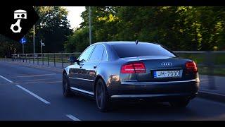 Audi A8 3.0TDI D3 Тест-драйв; zhmuraTV