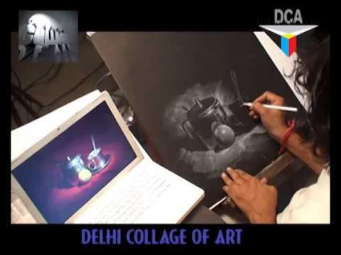 Delhi collage of art Still Life Demo