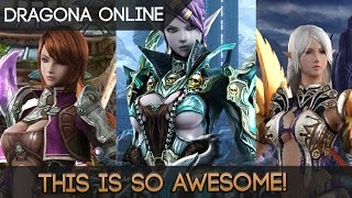 Dragona Online - Wait, What? This MMORPG Is Freakin' Awesome!