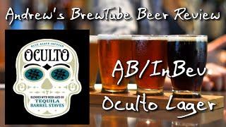 AB/InBev Oculto Tequila Barrel Lager - Andrew