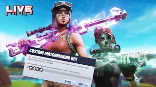 NA WEST CUSTOM MATCHMAKING FORTNITE LIVE -!recent Code Créateur: I'S'S'A'P