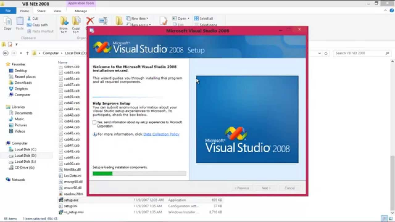 Microsoft visual studio 2008 free download trial