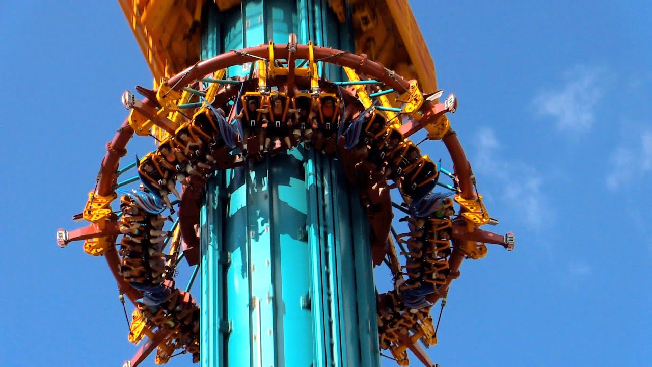 Falcon 39 s fury off ride hd 60fps busch gardens tampa youtube - Busch gardens rides height requirements ...