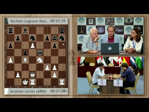 FIDE World Cup 2017 Tbilisi Semifinals Tie-breaks - PART 1