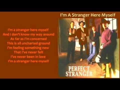 Perfect Stranger - I'm A Stranger Here Myself (+ lyrics 1995)
