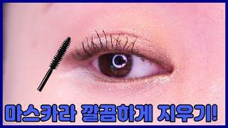 마스카라지우는방법 feat. 아이리무버 제품추천까지:)