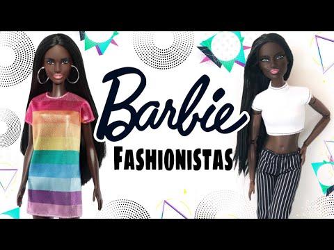 Yeni Barbie Fashionistas Siyahi Türkiye'de İLK! - Mellbie #mellbie #barbiefashionistas
