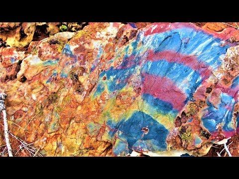 There's A Mountain Full Of RAINBOW JASPER | Liz Kreate