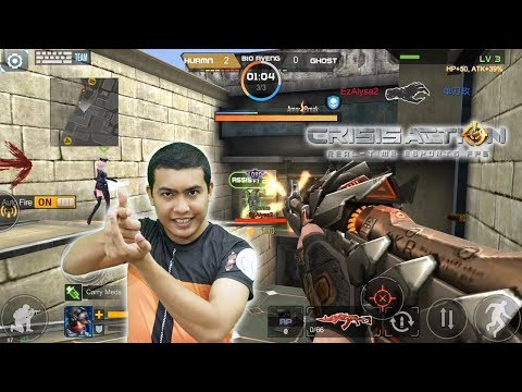 MINECRAFT COUNTER STRIKE ZOMBIE ??? Crisis Action - Real Time ESports FPS Android Mobile Game Review