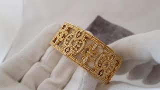 Обзор ювелирного украшения  Loree Rodkin браслет желтое золото с бриллиантами