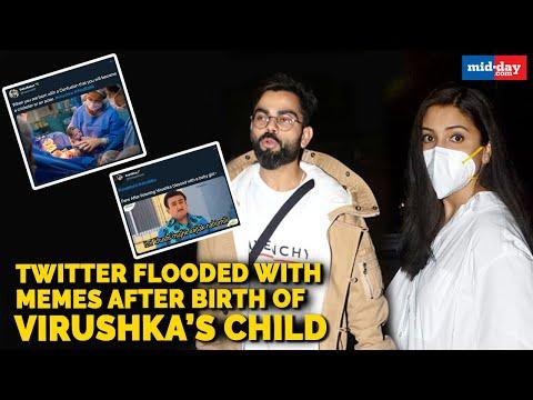 Anushka Sharma, Virat Kohli blessed with a baby girl, Twitter flooded with hilarious memes!