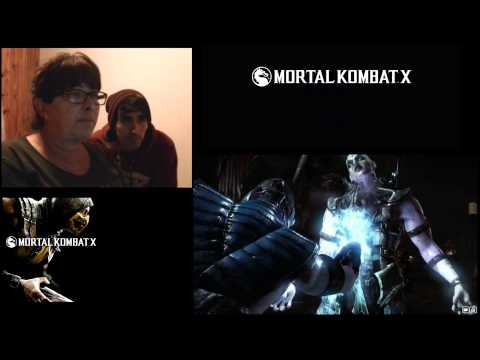 | Video Reaccion | Mortal Kombat X | Con mi Vieja