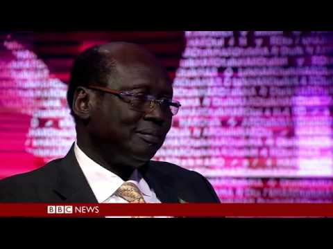 BBC HARDtalk   Barnaba Marial Benjamin   Foreign Minister, South Sudan 11 2 14 360p