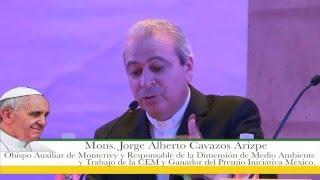 Palabras Mons. Jorge Alberto Cavazos, Obispo Auxiliar de Monterrey